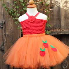 Applejack Skirt - My little pony, $50 via Blooms and Bugs