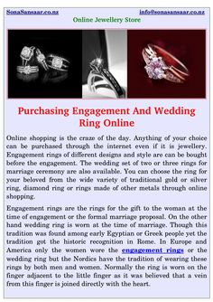 SonaSansaar offers #jewellery like #engagement #rings, #wedding rings, #diamond rings. Find the perfect custom designed #platinum, gold or silver engagement and wedding ring for you at reasonable prices in #Auckland.