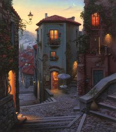 Digital painting by Evgeny Lushpin