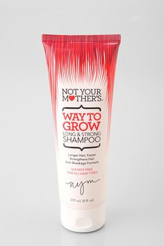 """Not Your Mother's Way To Grow Long and Strong"" Shampoo & Conditioner is great for your hair! And it smells amazing!! I bought it at Ulta for $5.99 after seeing it on pinterest and just after a few washes I can see and feel a difference in my hair! I ABSOLUTELY would recommend this product to any of my female friends."
