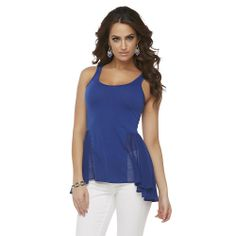 Get the new Kardashian Kollection Women's Peplum Tank Top at Sears.com/Kardashian today!