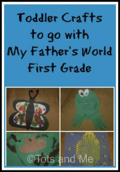 Toddler Crafts to Go with My Father's World First Grade