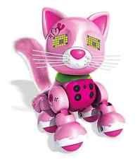 Zoomer Interactive Kitten Arista Robot Sensor Toy Kitty Cat Pet Light Sound Play
