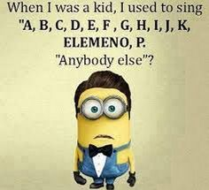 Today Funny Minions from Tulsa (08:42:21 PM, Wednesday 26, October 2016 PDT) –... - Funny Minion Quote, minion quotes - Minion-Quotes.com