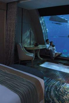 7 Amazing Underwater Hotels Around the World via @PureWow