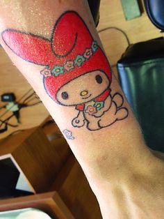 Pajamie's My Melody Forearm Tattoo