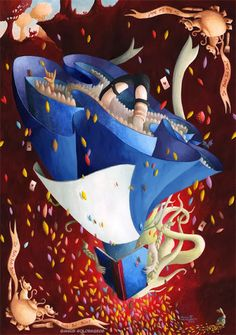 Pinzellades al món: Alícia en el País de les Meravelles: il·lustracions/ Alicia en el País de las Maravillas: ilustraciones / Alice in Wonderland: illustrations / Alice aux Pays des Merveilles: illustrations (6)