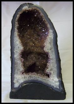 Large Amethyst Crystal Geode Church Cathedral by timelessdesigns07