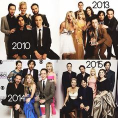 TBBT through the years