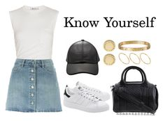 """""""Know Yourself"""" by anaelle2 ❤ liked on Polyvore featuring Alexander Wang, adidas Originals, Étoile Isabel Marant, ASOS, Cartier and Marc by Marc Jacobs"""