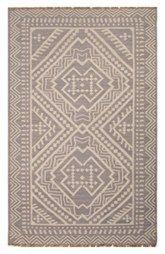 Jaipur 'Yao' Batik Pattern Flat Woven Wool Area Rug