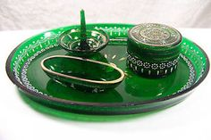 bohemian vanity tray | Collectibles > Vanity, Perfume & Shaving > Vanity Accessories