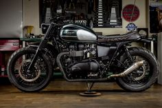 RATE THE BIKEReader Rating 20 Votes7.8 Jose and Tito of Málaga,Spain basedMacco Motors are without doubt one of the most popular custom Triumph Twin builders to grace the pages of Bonnefication – with the duobuilding bikes for clientsworldwide, bikes their customers clearly desire.Jose and Tito's latestbuild is based on a 2015 Bonneville Spirit, built for …