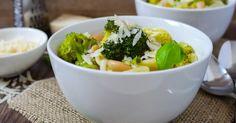 Ein gebührender Abschied vom Winter: Brokkoli-Minestrone