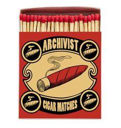 """Résultat de recherche d'images pour """"archivist matches cigar"""""""