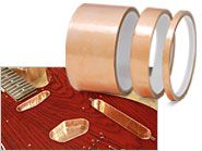 Conductive copper tape for a good price. Can be used for fun DIY decoration and projects