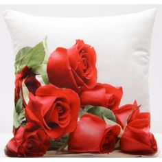 Vankúš JR46 Rose, Flowers, Plants, Pink, Roses, Planters, Royal Icing Flowers, Flower, Florals