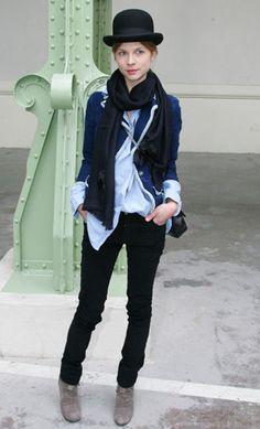 BLOG DA TATI KLI: Style- Clémence Poésy