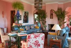 A historic family home in Tangier gets a colorful and culture-filled new look.