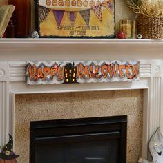 Happy Halloween LED Canvas Art Print   Kirklands