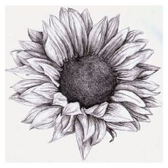 brushstrokes, etc. Sunflower tattoo ❤ liked on Polyvore featuring accessories and body art