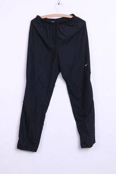 Nike Mens S Trousers Pants Tracksuit Bottoms Black Sport - RetrospectClothes