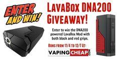 DNA200 LavaBox Giveaway! - http://vapingcheap.com/dna200-lavabox-giveaway/