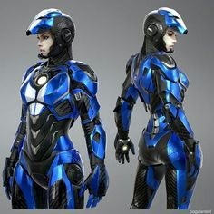 Im genuinely considering attempting a bigger armour piece next year like this 🤔 Though not sure i could pull it off lol Cyberpunk Girl, Arte Cyberpunk, Cyberpunk Character, Female Character Design, Character Concept, Character Art, Iron Man Suit, Iron Man Armor, Space Opera