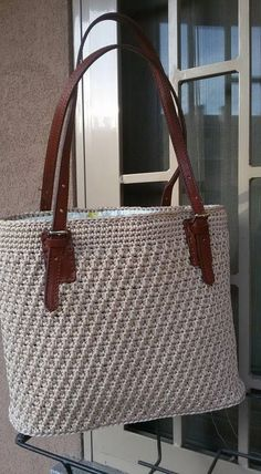Crochet HandBags Patterns, Qanta mich Griff, Qanta Moidele zu Qantave – Purses And Handbags Diy Crotchet Bags, Crochet Tote, Crochet Handbags, Crochet Purses, Knitted Bags, Diy Crochet, Crochet Pattern, Diy Bags Purses, Handbag Patterns
