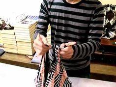 Bolsos con la técnica del Furoshiki
