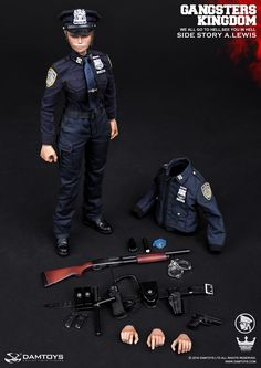 Gangsters Kingdom Side Story - Officer A. Lewis by Damtoys - Available at Legends Toys and Hobbies for $145.00