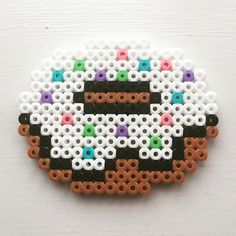 Donut hama beads by perlepige