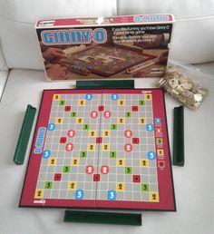 Vintage 1981 Ginny-O Rummy game (Ginnykub) Board Game by Chieftain by TreasuresMemories on Etsy