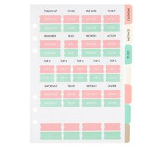 Update your favourite large planner for the year ahead and add some fun with this super cute Vänskap refill pack, which includes an 18 month perpetual calendar, meeting notes, to do pages and more. The unique illustrations on the divider tabs featuring our quirky cat characters are sure to make you smile each time you use it.