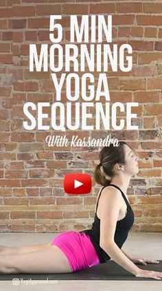 yoga yoga routine 5 Minute Morning Yoga Flow for Yoga Fitness, Fitness Workouts, Morning Yoga Sequences, Morning Yoga Flow, Morning Yoga Routine, Morning Meditation, Morning Yoga Stretches, Yoga Meditation, Daily Yoga Routine