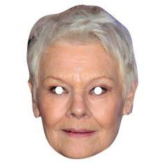 Judy Dench Celebrity Mask