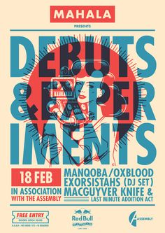 Debuts & Experiments Poster by Kronk