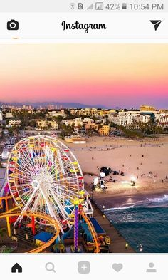 Santa Monica, California by santamonicaboardwalk San Diego, San Francisco, Santa Monica California, La Jolla Cove, Wanderlust, City Of Angels, Venice Beach, Big Sur, Best Memories