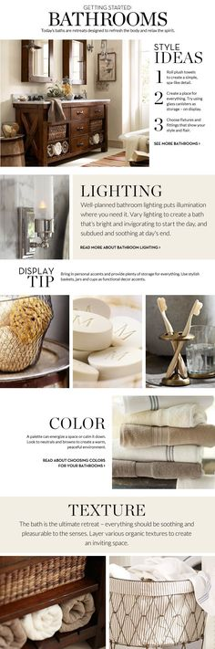 Bathroom Decor & Decorating Ideas | Pottery Barn