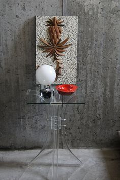 Mid Century Modern Lucite Table by stukinmidcentury on Etsy