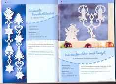Topp - Festliche weinachtsideen (Angelika Kipp) / Karácsonyi filigránok – Muscaria Amanita – Webová alba Picasa