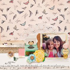 Maggie Holmes Crate Paper Styleboard Scrapbook Page-2