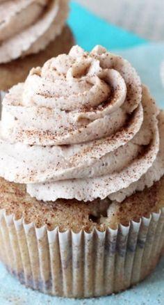 Cinnamon Sugar Swirl Cupcakes