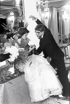 How to Behave at a Party  - Bianca Jagger and Yves Saint Laurent