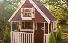 The Swiss Cottage | childrens garden wooden play house from Birmingham