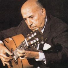 Carlos Montoya was a Spanish guitar player who is considered the father of Flamenco guitar. http://www.youtube.com/watch?v=cv2Fyjk0GGM