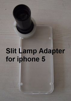 Slit Lamp Adapter for iPhone 5. $99.