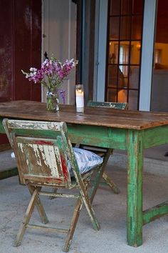Nice rustic furniture