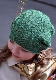 c0cb9309ba6 Stylish Blysnyzja Hat with unusual cable pattern will delight girls of all  ages and will provide