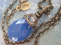 Blue Skies at Night by julianamarquis on Etsy